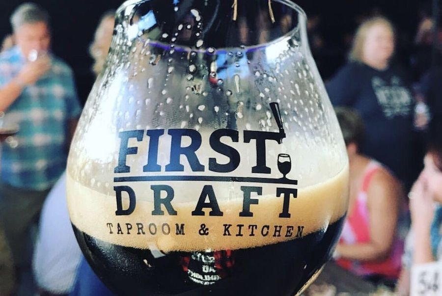 ipourit first draft taproom