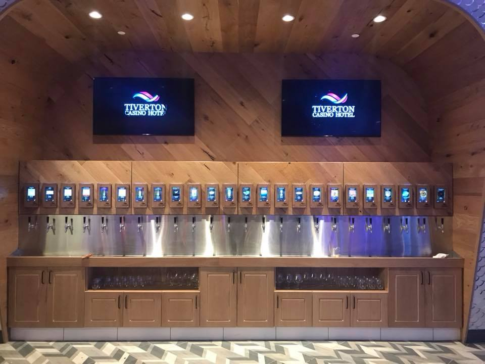 tiverton casino hotel ipourit beer wall