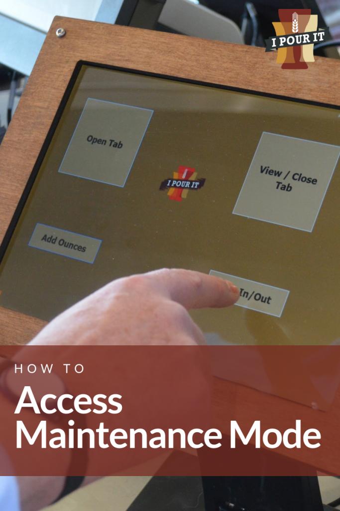 ipourit access maintenance mode