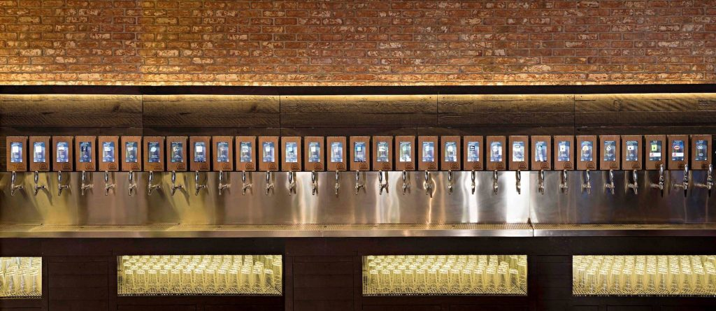 ipourit marketing beer wall