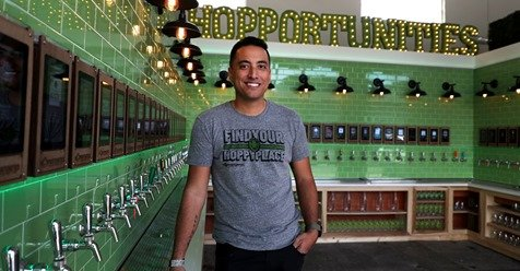 hopportunities self serve beer bar john Macatangay