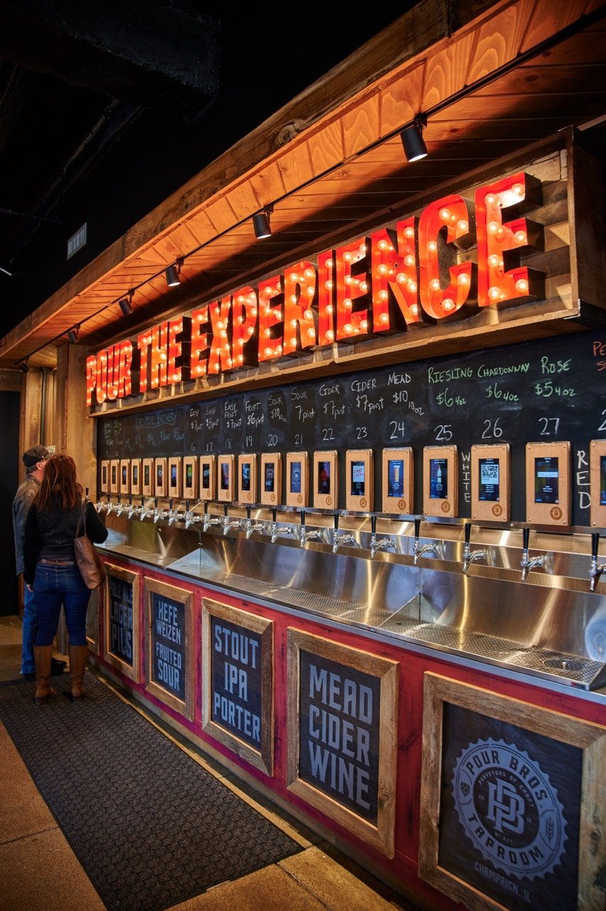 self pour taproom case study